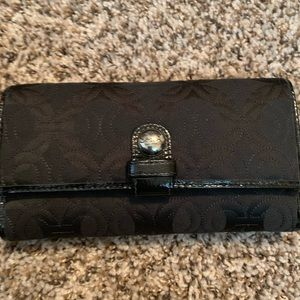 Coach check wallet